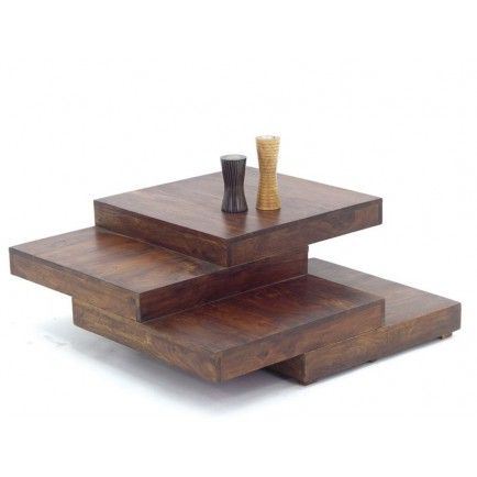 25 best ideas about table basse bois massif on pinterest - Table basse en bois massif design ...