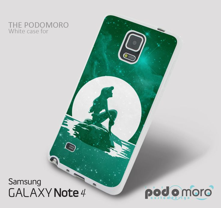The little mermaid Green Nebula for iPhone 4/4S, iPhone 5/5S, iPhone 5c, iPhone 6, iPhone 6 Plus, iPod 4, iPod 5, Samsung Galaxy S3, Galaxy S4, Galaxy S5, Galaxy S6, Samsung Galaxy Note 3, Galaxy Note 4, Phone Case