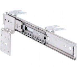 Draai- schuifgeleider voor meubelpanelen tot en met 2300 mm hoog - tv kast geleiders