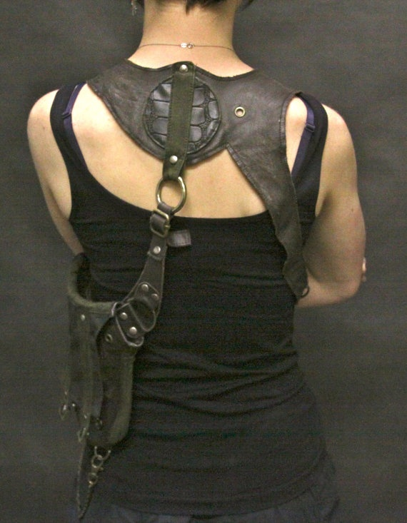 leather holster bag / Renegadeicon