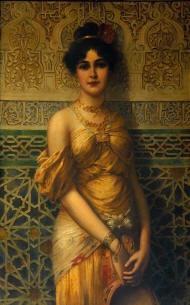 Harem girl Ottoman times