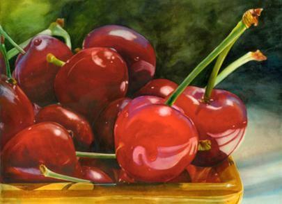 Terri Hill Watercolor Paintings - Fine Art Blogger
