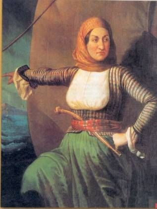Οι γυναικειες μορφες στην επανασταση του 1821