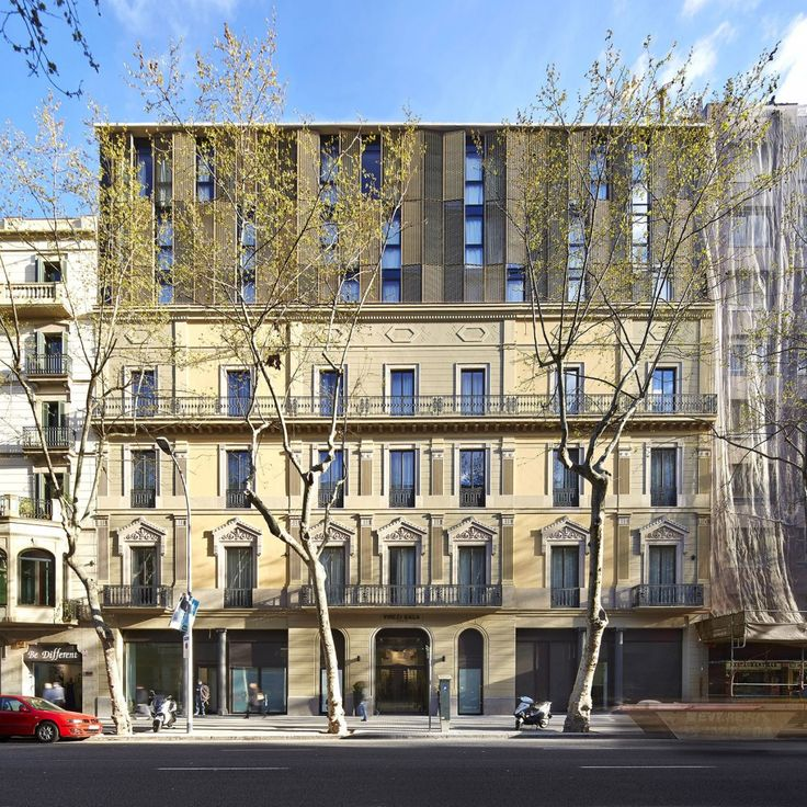 319 best contemporary buildings in historical existing environments and extensions images on - Hotel vincci barcelona ...