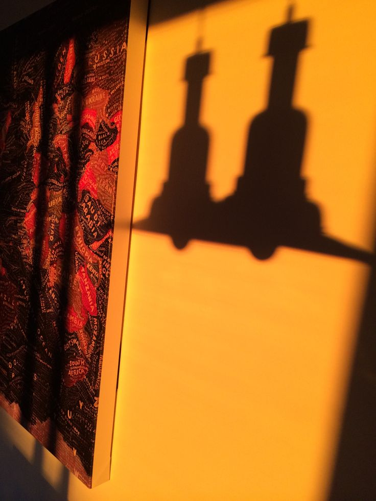 Shadow of the lamps