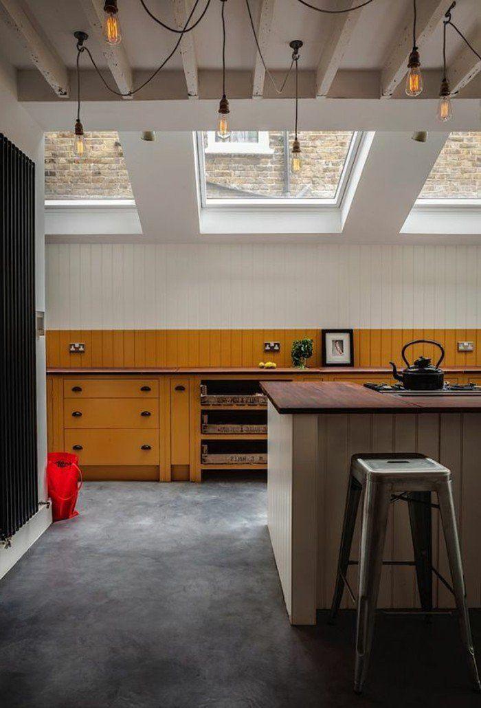 1000 id es propos de fen tre de toit sur pinterest for Fenetre verriere interieure