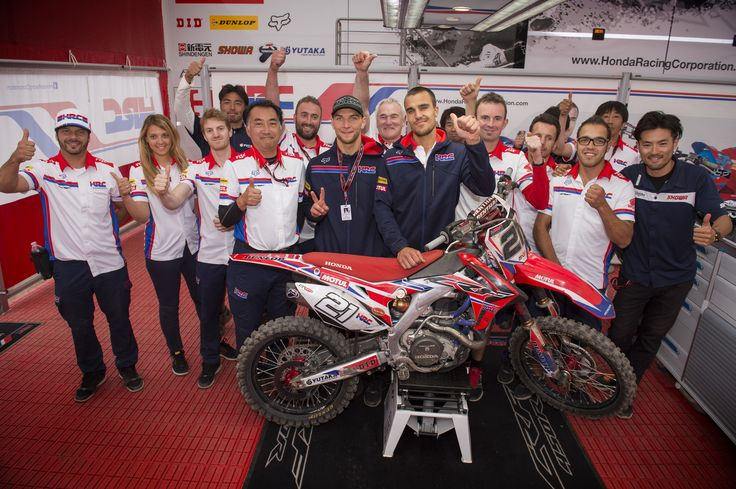 Team HRC in Germany