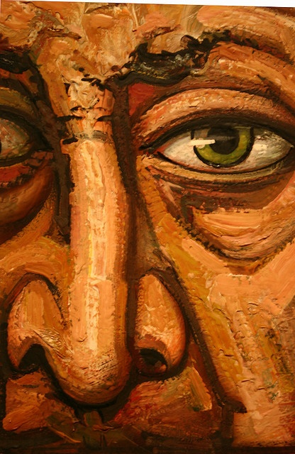 Siqueiros, Self-portrait