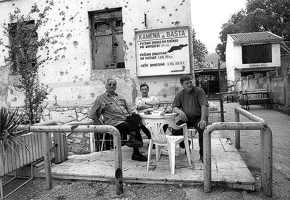 Mostar tras la Guerra en los Balcanes