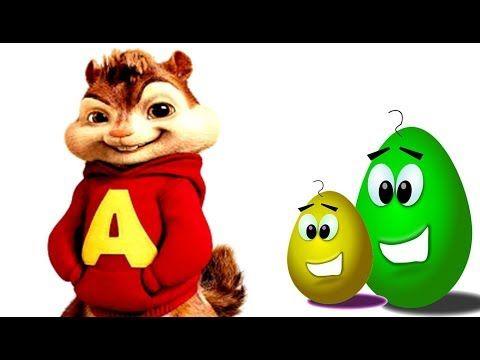 Sincap Alvin Çizgi Film Karakterleri İle Sürpriz Yumurta Renkleri Öğreniyorum - Cici Bebek TV - YouTube