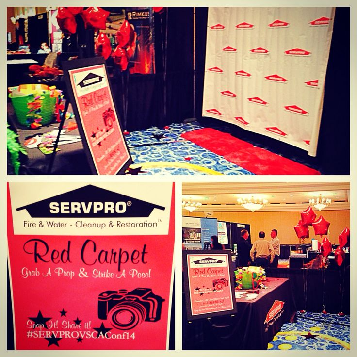 Check Out Our Servpro Red Carpet Proud To Show Our