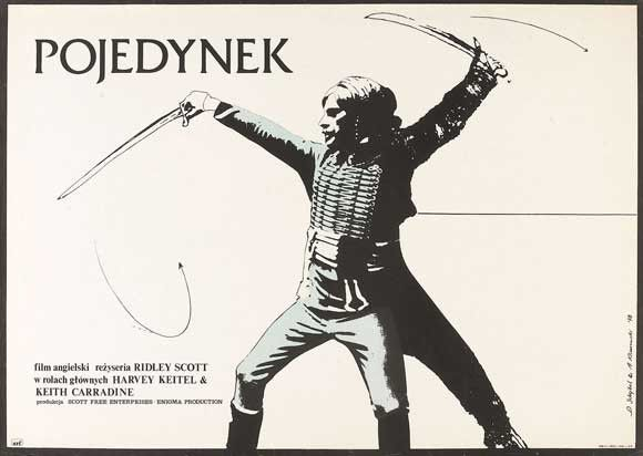The Duellists (Polish) 27x40 Movie Poster (1977)