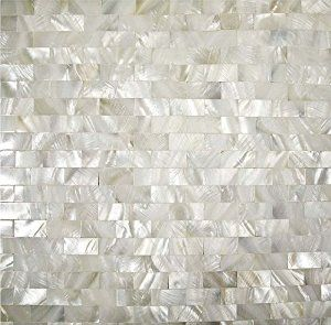 Factory Direct 5 Sheets/lot Mother of Pearl Tile Interlocking Subway Seamless Sheet 12''x12'' Kitchen Backsplash Mother of Pearl Tile Bathroom Floor Mirror Back Splash Decor Mesh Shower Bathtub Tiles Countertops Bar Fireplace Shell Mosaics Art Tile - - Amazon.com