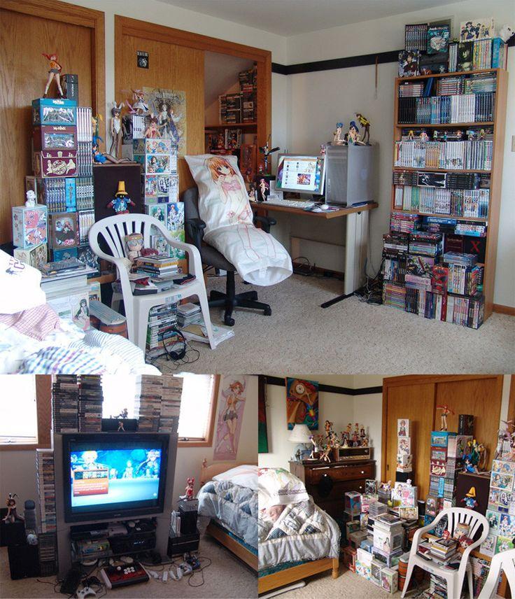 Anime Fan Bedroom Bedroom Ideas With Chandeliers Sheer White Bedroom Curtains Versace Bedroom Sets: 129 Best OTAKU FAN ROOM Images On Pinterest