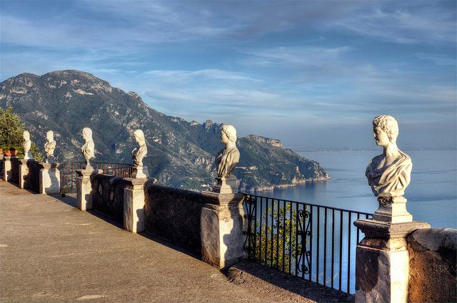 Ravello (Italy). 'Perched above the Amalfi Coast, the town bristles with sumptuous churches, palaces and villas.