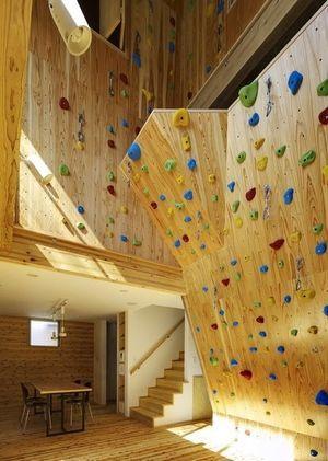 ちょっとでいいのでボルダリングウォールをどこかにつけられれば最高 階段下とか、屋根裏とかでも                                                                                                                                                      もっと見る