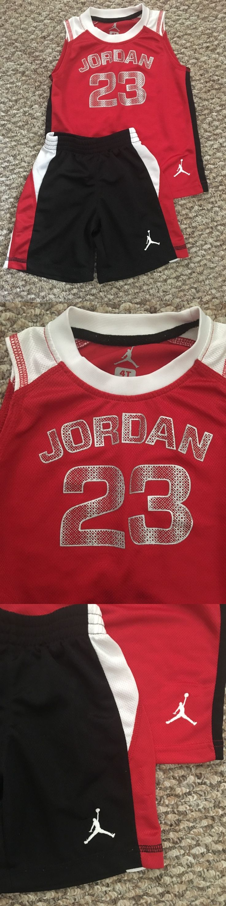 Michael Jordan Baby Clothing: Boys Michael Jordan Outfit Size 4T BUY IT NOW ONLY: $12.0