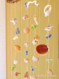 How To Make An Easy Little Gasparilla Island SeaShell Mobile