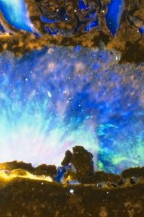 Microscoopfoto van een Opaal
