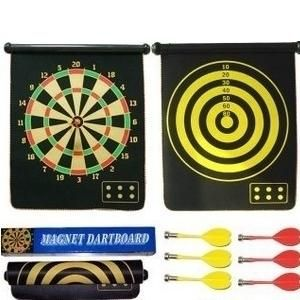 darts suit 17 inch double-sided professional dartboard set darts board flocking darts plate for wholesale and free shipping