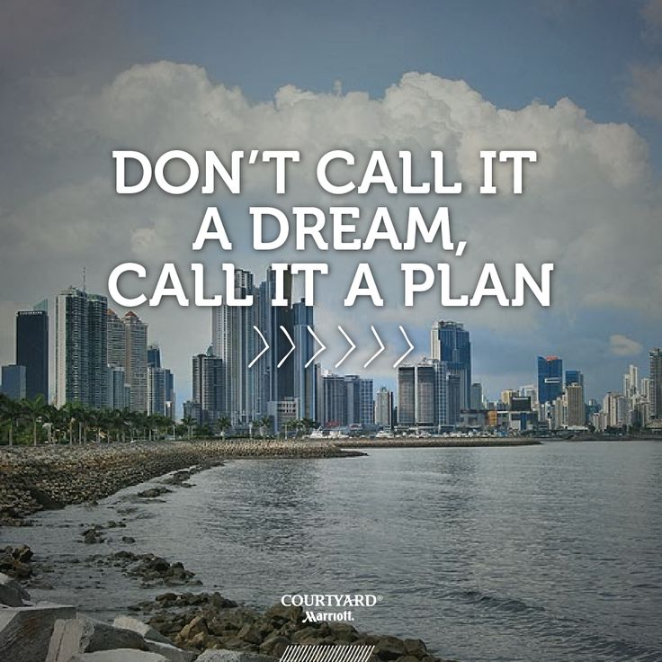 It's time to have a great travel plan! #Panama #Quotes #Travel
