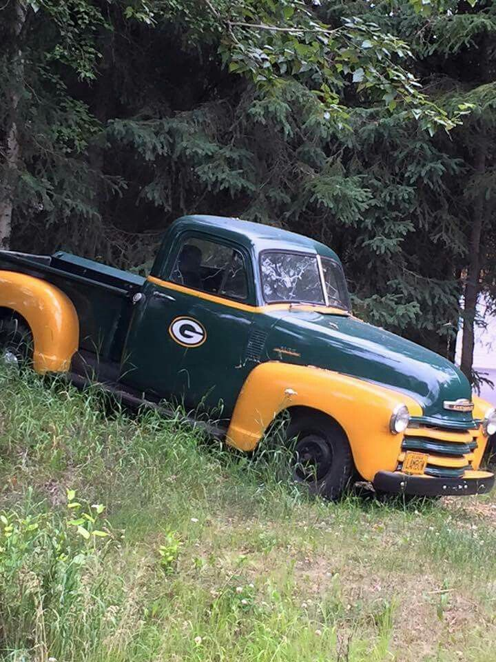 How awesome is this truck Packers fans??!!