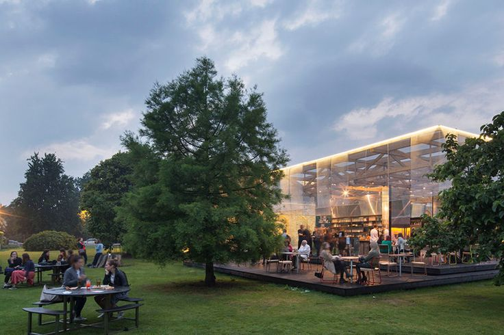 THE OUTDOOR DRINKING SPOT - DULWICH PICTURE GALLERY PAVILLION - What's On in London In July - REISS Blog