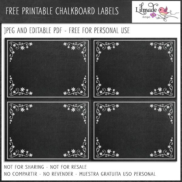 Free Editable Labels Chalkboard Style Available To Download On My Blog Here Ht Chalkboard Labels Printable Chalkboard Labels Free Printable Chalkboard Labels