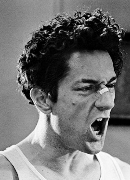 Robert De Niro in Raging Bull, Dir. Martin Scorcese (1980).