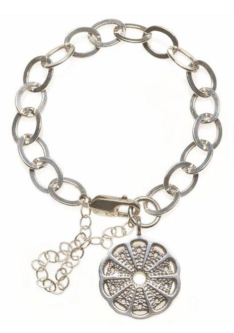 Wild Disk Charm Bracelet