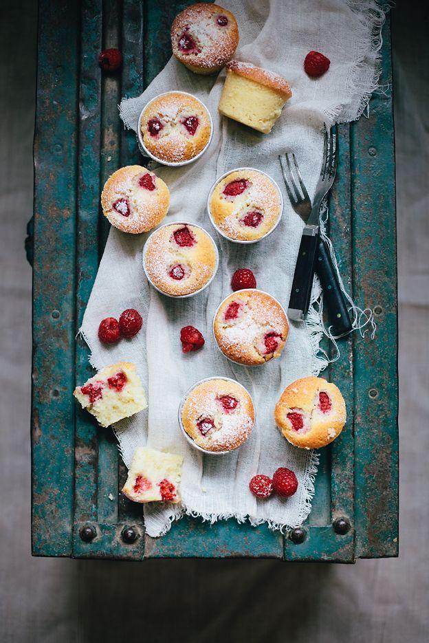 Raspberry Almond Cupcakes