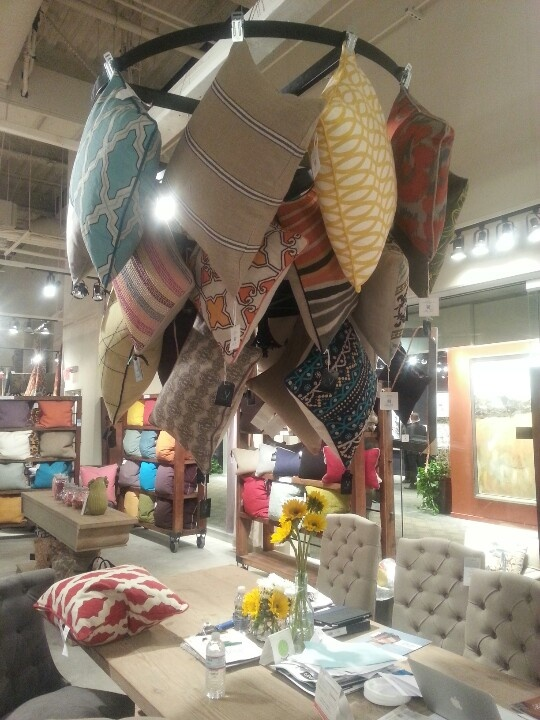 Fun pillow display at Classic Home-showroom C309 | Seen at ...