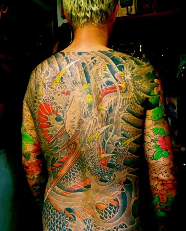 1000 ideas about yakuza tattoo on pinterest irezumi for Koi sushi aix