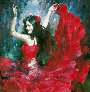 Cabaré das Pombas Giras: Alma Cigana, Dança Cigana, Vida Gitana, Cachoeiras Mulheres, Red Dresses, Flamenco Dancers, Flamenco Color, Magic Gypsy, Feathers Good