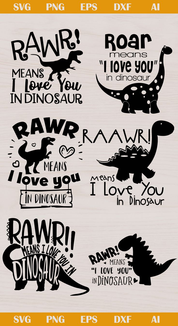 Download Rawr Dinosaur svg, Rawr Dinosaur silhouette, Rawr Dinosaur ...