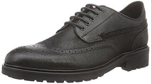 Oferta: 179.9€ Dto: -54%. Comprar Ofertas de Tommy Hilfiger Rtl L2285EGACY 1A, Zapatos de Cordones Derby para Hombre, Negro-Schwarz (Black 990), 43 EU barato. ¡Mira las ofertas!