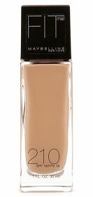 AsiaMs.net | Asian American Women's Site: Cheap Foundation for Asian Skin MAYBELLINE FIT in Sandy Beige 210