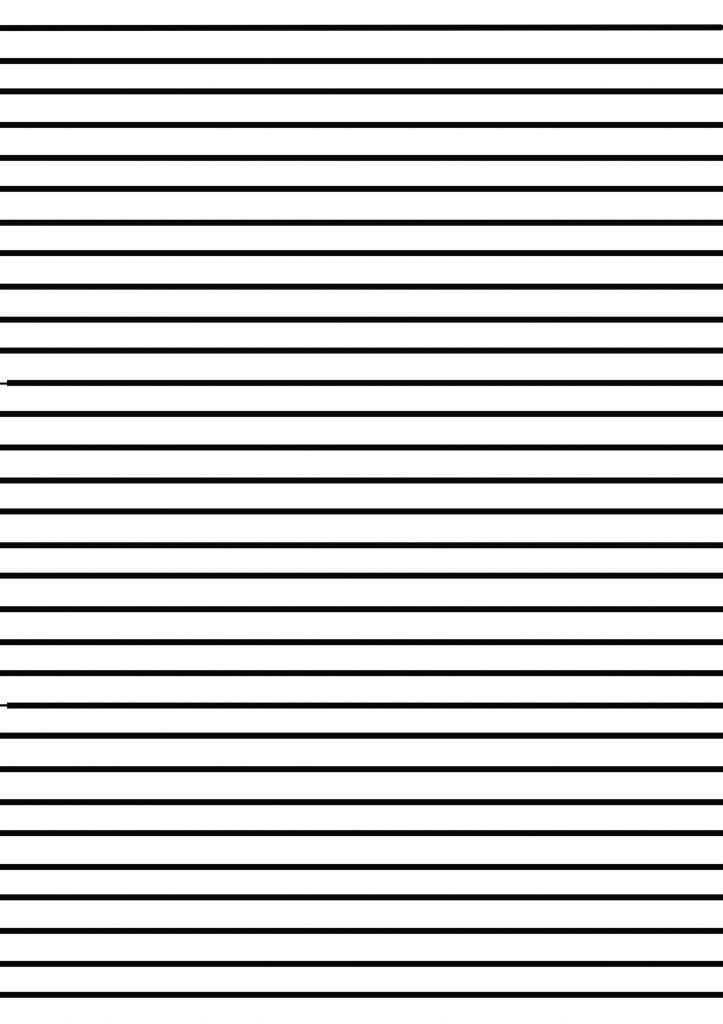 Kalın çizgili kağıt indir | Bilgi Uzmanı Ödev Sitesi