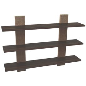 Style Selections�36-in Wood Wall Mounted Shelving from Lowe's - for Gracie's room