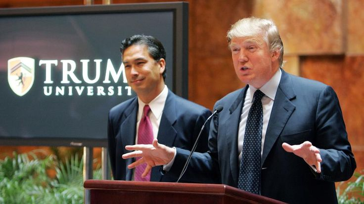 Trump University was a scam, say former students.