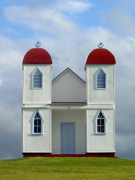 NZ Ratana Church near Raetihi
