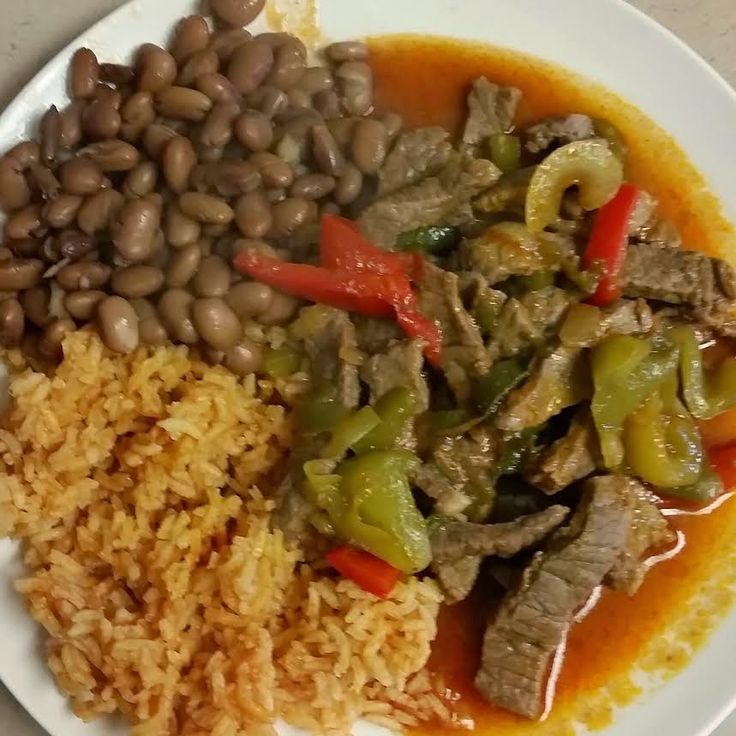For dinner last night I made a family favorite, steak ranchero or is bistec a la mexicana (does anyone know the difference?), with rice, b...