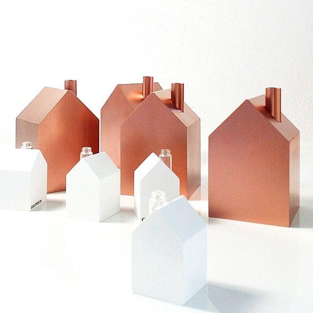Copper smoking houses. WWW.CULTFORM.DE instagram: @cultform