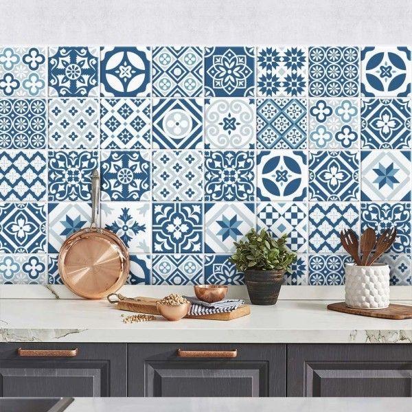 Les Meilleures Idées De La Catégorie Mosaique Adhesive Sur - Stickers carrelage cuisine 15x15 pour idees de deco de cuisine