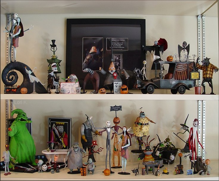 Nightmare Before Christmas The Citizens Of Halloween Town
