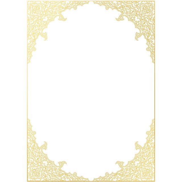 Islamic Decoration Frame Vector Islamic Frame Islamic