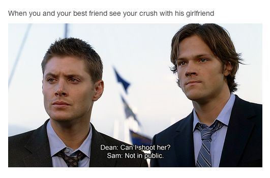Your best friend's crush is sacred and cannot be touched by others.   21 Things Only Best Friends Understand @liz521