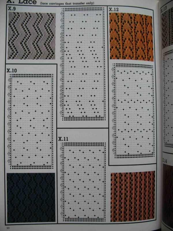 1434 best Knitting-machine images on Pinterest   Knitting stitches ...