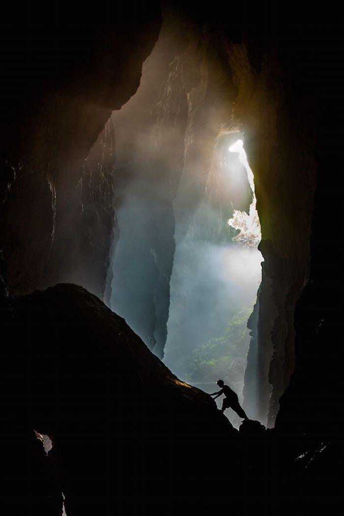 Best Underground Caves Ideas On Pinterest Caves Cave And - Gigantic underground trampoline inside cave looks amazing