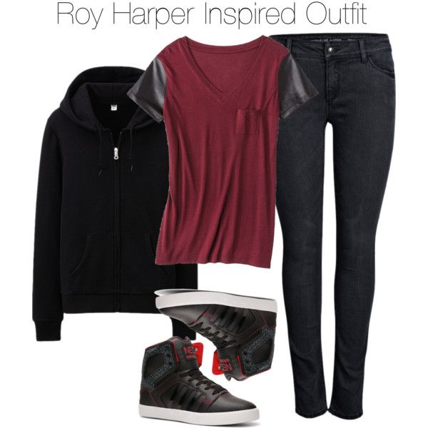 Arrow - Roy Harper Inspired Outfit